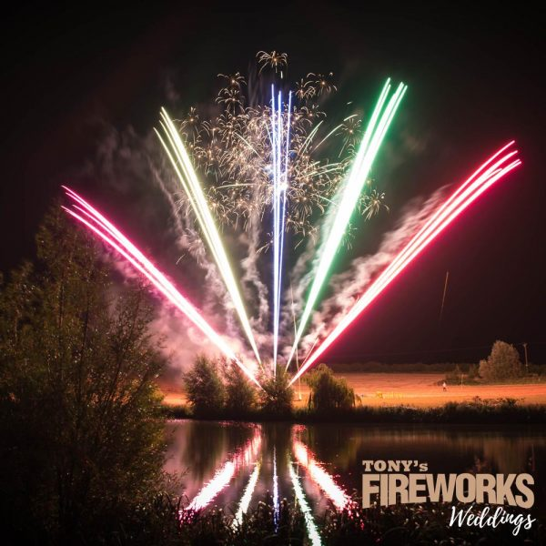 Wedding Fireworks - Ruby